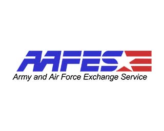 AAFES indoor outdor signage and display fixtures